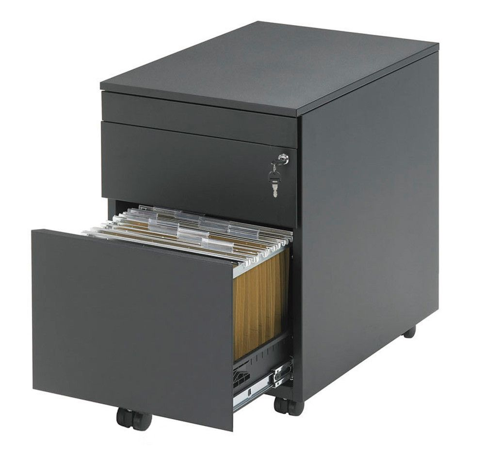 Drawer unit with sit stand desk | everything for a healthy workplace visit Worktrainer.com