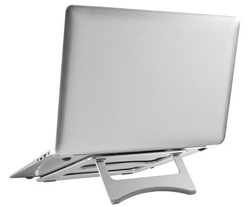 Laptop Verhoger Opvouwbaar   Accessoires voor je thuiswerkplek   Worktrainer.nl