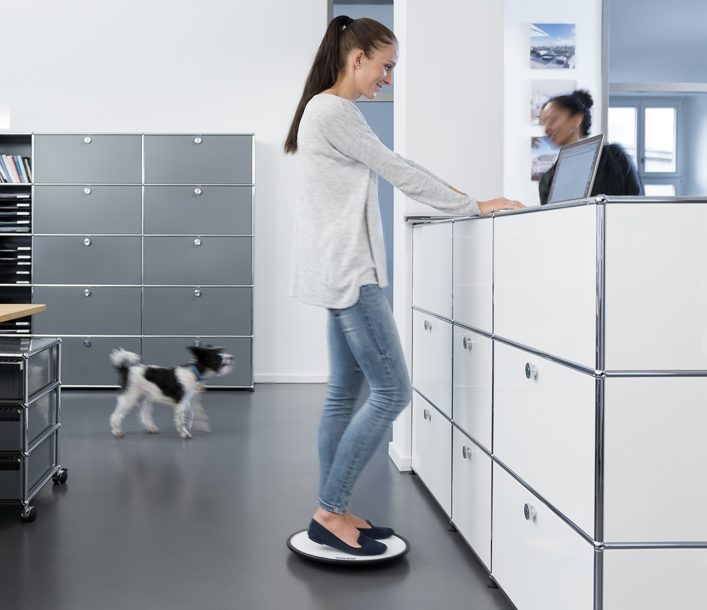 Ongo balance board | choose a healthy workplace visit Worktrainer.com