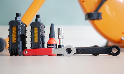 deskbike pedal set | accessories for your workplace visit Worktrainer.com