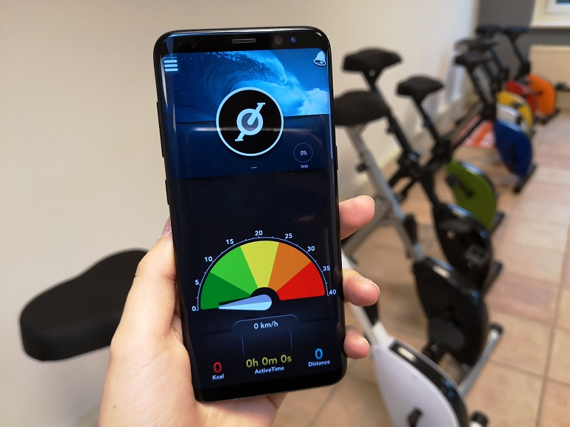 Deskbike app | free app for the results of cycling on the Deskbikes | Worktrainer.com