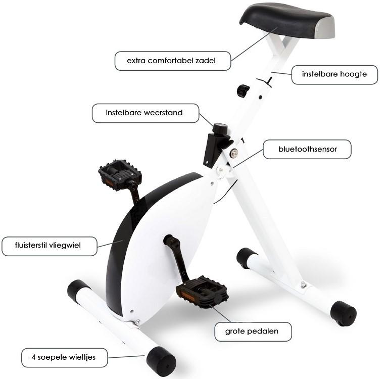 Deskbike bureaufiets | Fietsen op kantoor is gezond | Kijk voor alle ergonomische kantoormeubelen op Worktrainer.nl