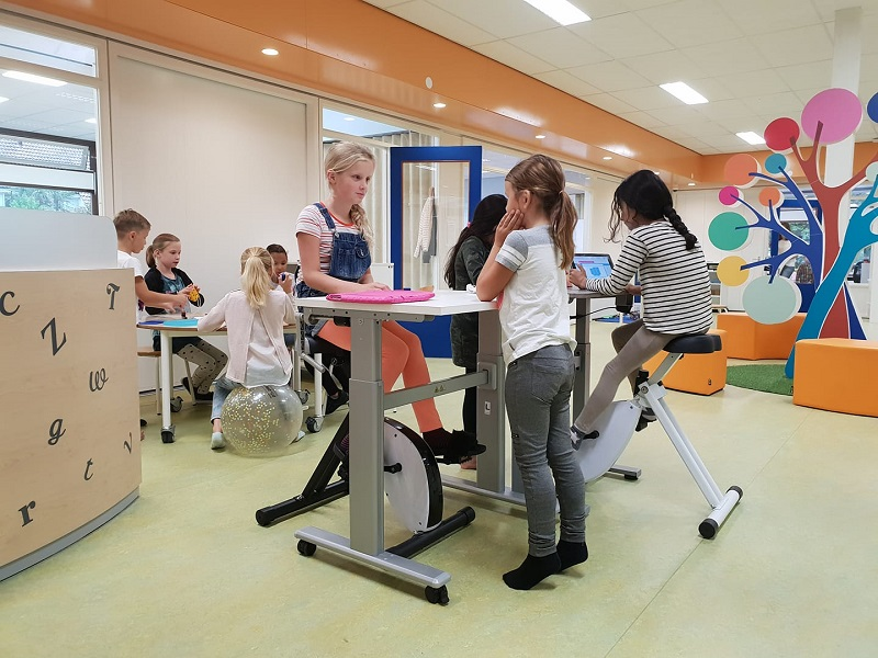 Deskbike seat pillar small choose a healthy workplace visit Worktrainer.com