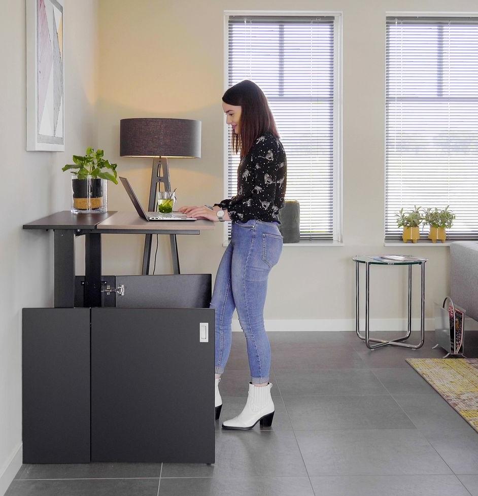 HomeFit zit sta bureau | kies voor een gezonde werkplek bezoek Worktrainer.nl