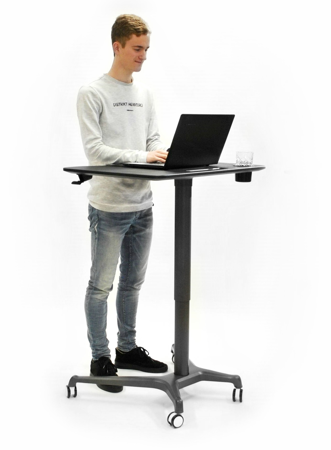 sit-stand desk bouncydesk