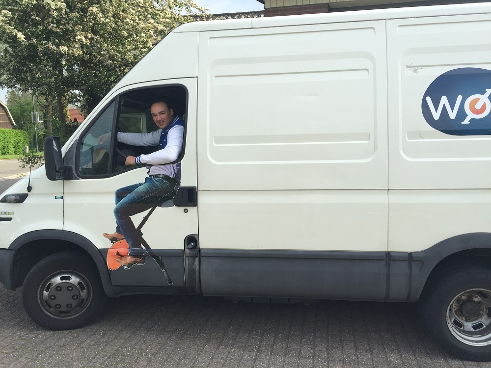 Zit-sta bureau Steelforce 300 | Bekijk alle zit sta bureaus op Worktrainer.nl
