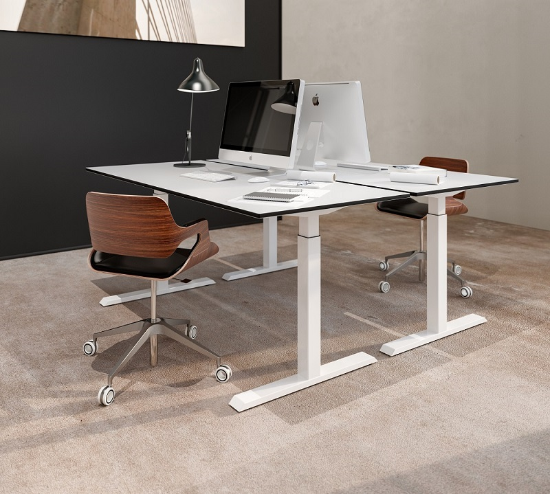 Sit stand desk 370 | choose a healthy workplace visit Worktrainer.com