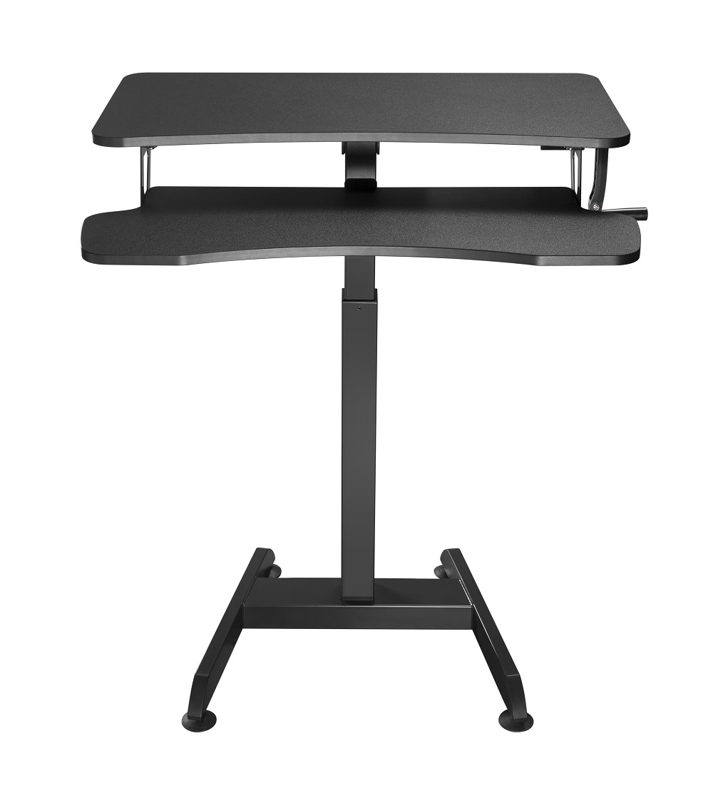 Updesk High | Manual with hand crank | Worktrainer.com