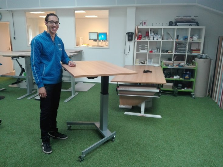 Conset zit sta tafel 501/19 | kies voor een gezonde werkplek bezoek Worktrainer.nl