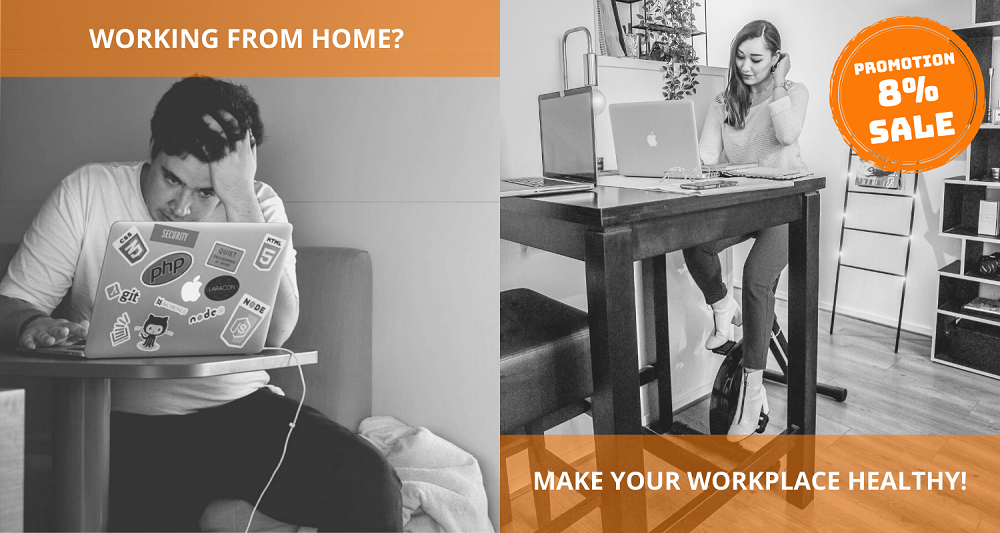 healthy workplace work from home