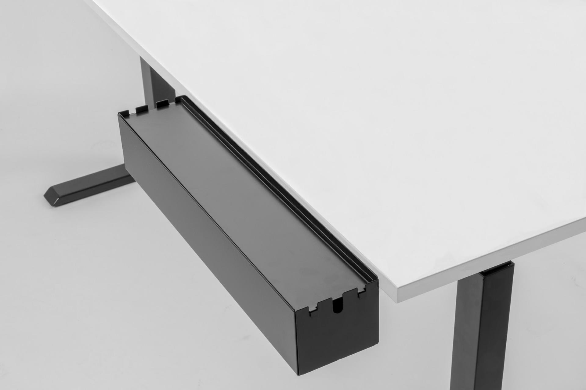Multibox | Opbergbakje eenvoudig aan je bureau te hangen | Worktrainer.nl