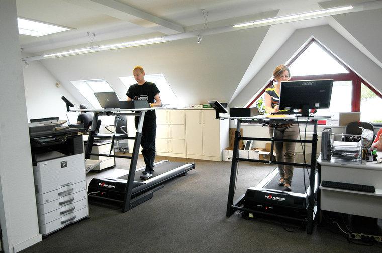 Walkdesk loopband | kies voor een gezonde werkplek bezoek Worktrainer.nl