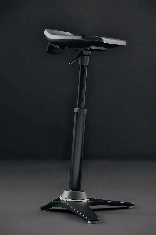 Aeris Muvman Industry | Actief zitten met Worktrainer | Zit-sta stoel | Worktrainer.nl