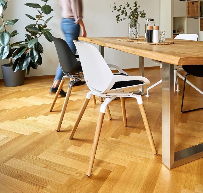 Kussentjes Kleuren Numo ergonomische bureaustoel | kies voor een gezonde werkplek bezoek Worktrainer.nl