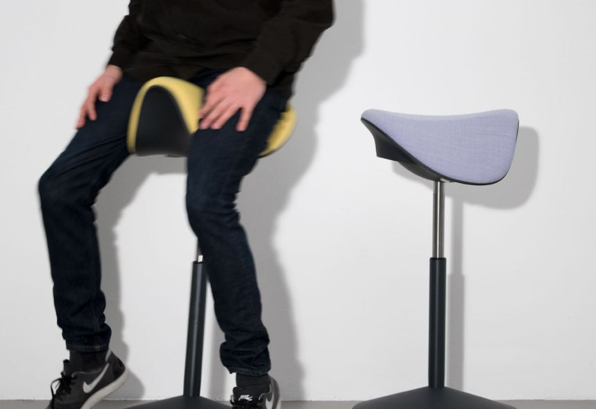 Varier Motion balance chair | sitting and exercising behind your desk | Worktrainer.com