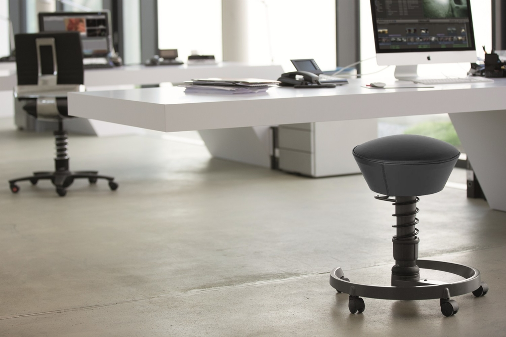 Stay in Balance at your desk with Swopper | Aeris | Worktrainer.com