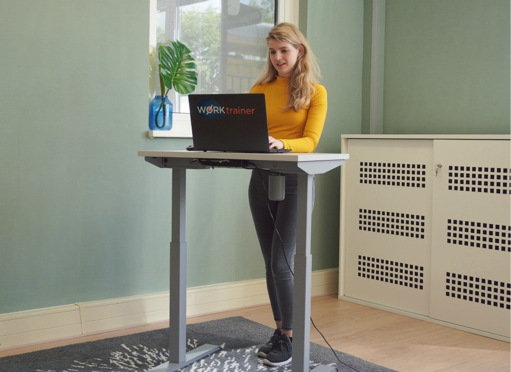 StudyDesk sit stand desk | Standing at work | Worktrainer.com