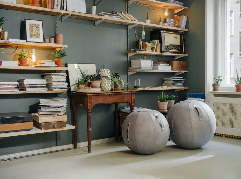 Vluv chair ball design | ergonomic chair balls | exercise at your desk | Worktrainer.com
