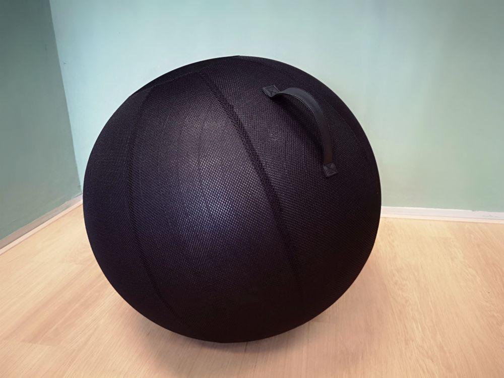 Balansbal | Balanceren achter je bureau | blijf in beweging | Worktrainer.nl