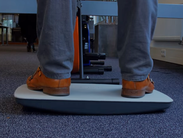Steppie balansboard