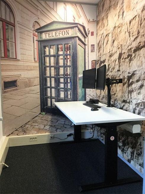 De bel werkplek