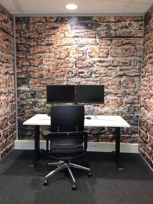 De concentratie werkplek