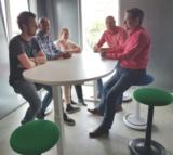 Ongo classic vergadersetting Zit gezond met onze ergonomische bureaustoelen | Worktrainer.nl