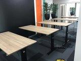 Aluforce 140 bureau | wissel staan en zitten achter je bureau af | Worktrainer.nl