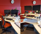 Updesk Wit XL