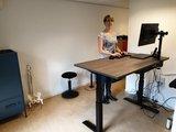 SteelForce 470 | wissel staan en zitten achter je bureau af | Worktrainer.nl