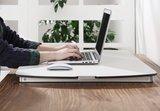 ultra slim bureauverhoger  | kies voor een gezonde werkplek bezoek Worktrainer.nl