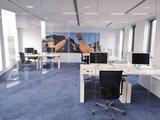 S2h bench wit   | wissel staan en zitten achter je bureau af | Worktrainer.nl