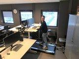 Walkdesk Solo WTD500  | kies voor een gezonde werkplek bezoek Worktrainer.nl