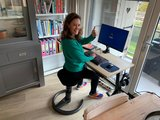 Swopper Classic Balanceren achter je werkplek | Worktrainer.nl