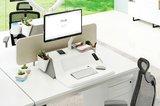 Flexidesk bureau verhoger | kies voor een gezonde werkplek bezoek Worktrainer.nl