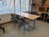 ALUFORCE 140  | wissel staan en zitten achter je bureau af | Worktrainer.nl