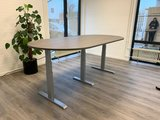 3 poot vergadertafel Wand muurtafel | kies voor een gezonde werkplek bezoek Worktrainer.nl