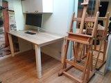 4 poot bureau zit sta bureau | kies voor een gezonde werkplek bezoek Worktrainer.nl
