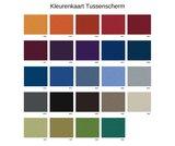 Kleurenkaart Tussenscherm S2H dubbel zit-sta bureau   | wissel staan en zitten achter je bureau af | Worktrainer.nl