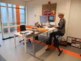 Sta bureau met | Deskbike bureaufiets | Fiets je fit achter je bureau | Worktrainer.nl