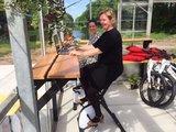 Deskbike bureaufiets | Fiets je fit achter je bureau in de kas| Worktrainer.nl