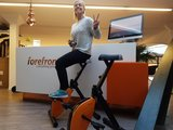 Deskbike magnus  | Deskbike bureaufiets | Fiets je fit achter je bureau | Worktrainer.nl