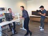 Leonard Hofstra - Deskbike | Deskbike bureaufiets | Fiets je fit achter je bureau | Worktrainer.nl