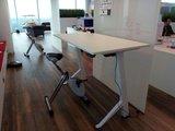 Y desk bureaufiets | Deskbike bureaufiets | Fiets je fit achter je bureau | Worktrainer.nl