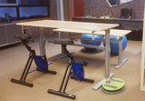 Deskbike FitDisc en A110  | Deskbike bureaufiets | Fiets je fit achter je bureau | Worktrainer.nl