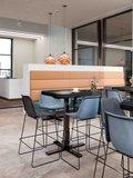 SteelForce 370 single column sta tafel klein | Staand werken is gezond | Worktrainer.nl
