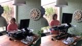 Updesk Cross Electric bureauverhoger | kies voor een gezonde werkplek bezoek Worktrainer.nl
