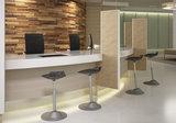 Zit sta krukken modern design Muvman stastoel | Ergnomische beweegkruk om fit te blijven op je werk | Worktrainer.nl