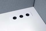 inbouwmodule stekkers in tafel   accessoires voor je werkplek bezoek Worktrainer.nl