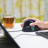 Groen Signaal R-Go Tools RE Break Mouse muis verticale   accessoires voor je werkplek bezoek Worktrainer.nl